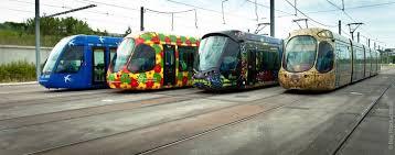les 4 motifs de tramway à montpellier